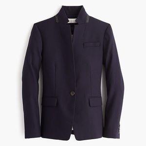 J. Crew Regent Wool Blazer Navy 0p